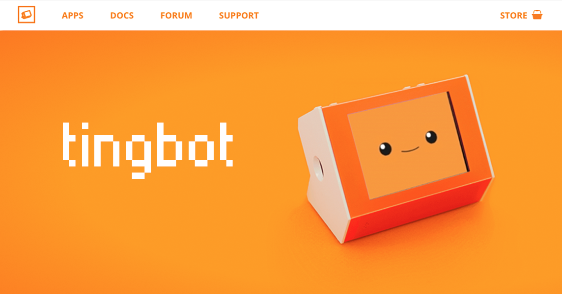 Tingbot | Make cool apps and learn to code with Tingbot: the